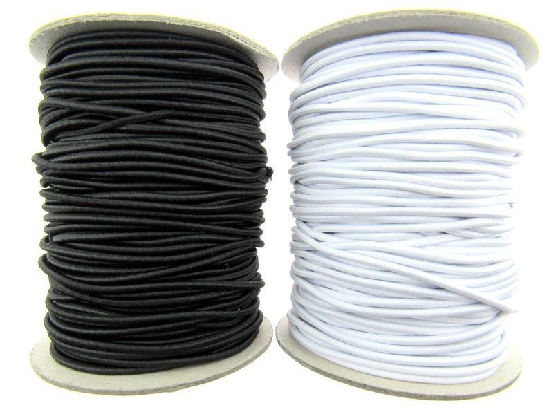 Round elastic Elastic 2mm /& 3mm 3 meters in each size.
