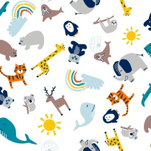 Animal Cotton Fabrics